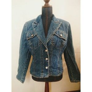 Vintage Guess Marciano Blue Jean Jacket XL